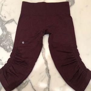 Capri lululemon leggings